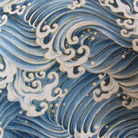 japanese pattern wave japanese ocean cushion ocean japanese and ocean waves