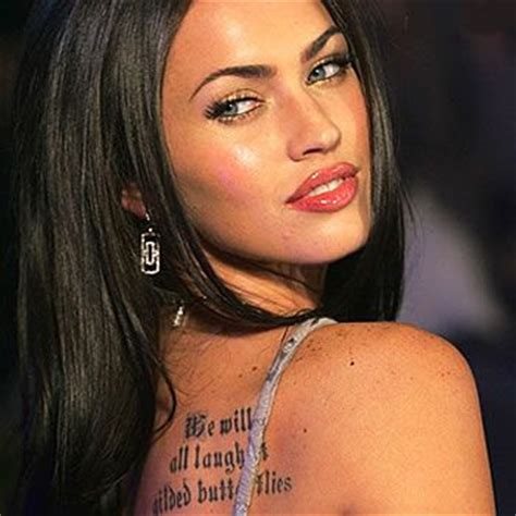 megan fox s absence changed transformers vibe says shia tattoos insights megan fox tattoos 2012 male models picture