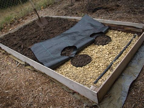 self watering raised bed texas farmer fine tunes growing procedure with