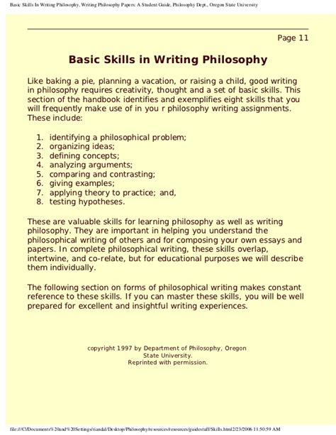 how to write philosophy paper writing a philosophy essay 187 original content
