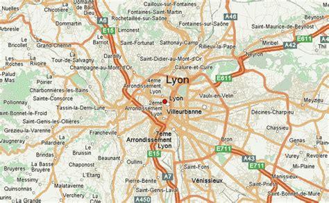 lyon on a map lyon location guide