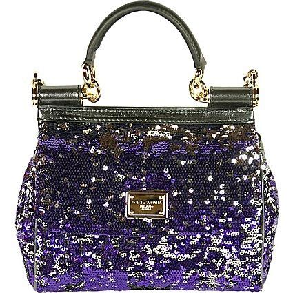Dolce Gabbana Lavender And Ivory Purse by Dolce Gabbana By Color My World Purple The House Of