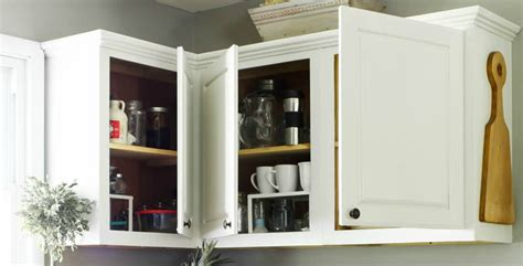 Painting Cabinets Without Removing Doors Remodelaholic How To Paint Your Kitchen Cabinets In One Weekend
