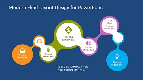 layout planning models and design algorithms ppt modern fluid layout design for powerpoint slidemodel