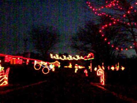 Christmas Lights At Byron Memorial Park Youtube Maryland Lights