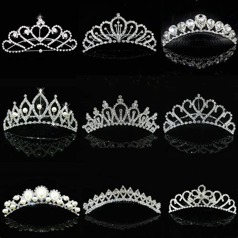 wedding tiaras and crowns 2016 hot wholesale wedding hair accessories bridal hair
