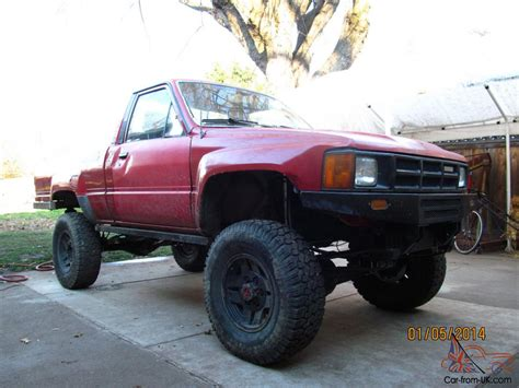 Toyota Turbo Truck For Sale 1986 Toyota Base Turbo Standard Cab 2 Door 2 4l