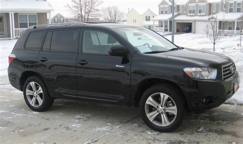 2008 Toyota Highlander Specs 2008 Toyota Highlander Pictures Information And Specs