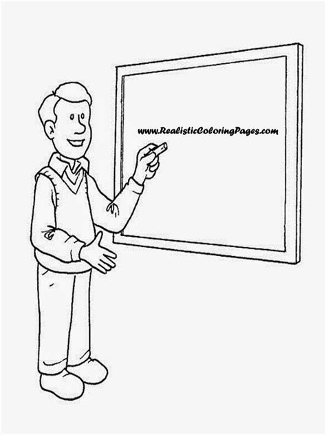 education templates for pages teacher coloring pages
