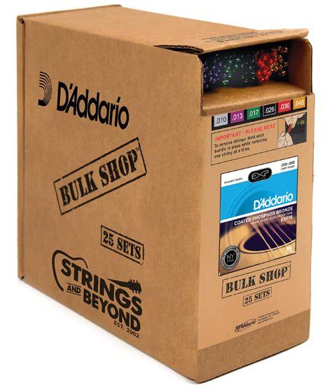 D Addario Exp16 Coated Phosphor Bronze Acoustic Guitar D Addario Light Strings