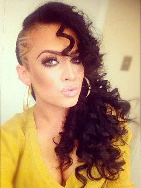 badass shaved hairstyles  women page