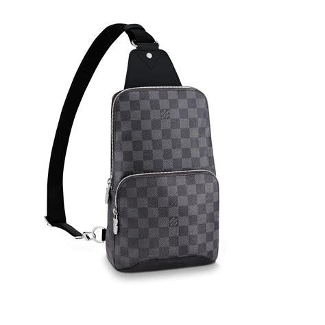 avenue sling bag damier graphite mens bags louis vuitton