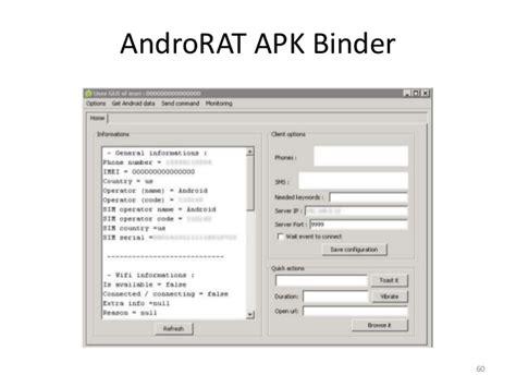 androrat apk actualidad malware en android detecci 243 n y otros temas