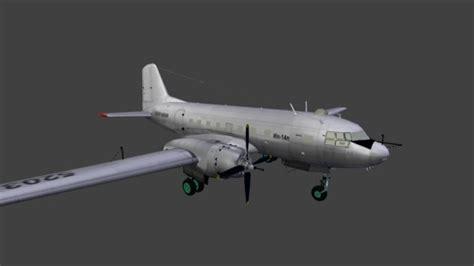 blender tutorial aircraft model ilyushin il14p aircraft blendernation
