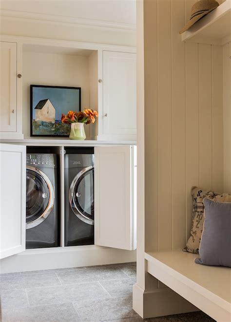 Curtain Ideas For Kitchen Windows by Hidden Washer And Dryer Design Ideas