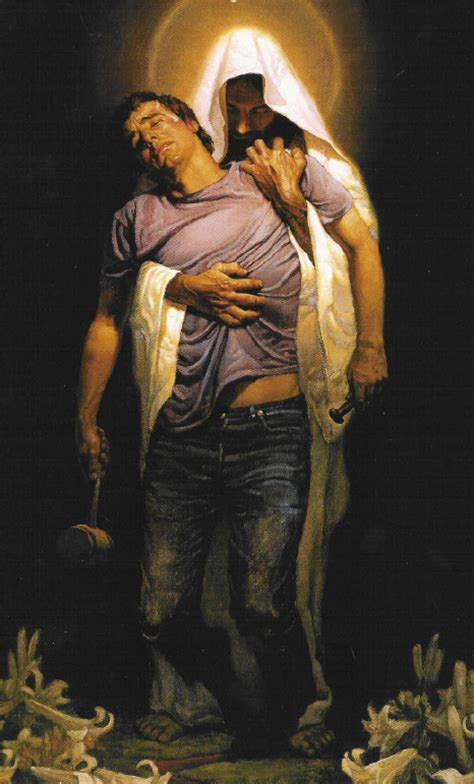 he died for my grins christian art thomas blackshear and