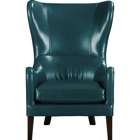 purple leather chair crate and barrel garbo leather wingback chair in mountain leather