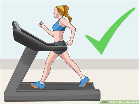how to a to use a treadmill how to use a treadmill with pictures wikihow