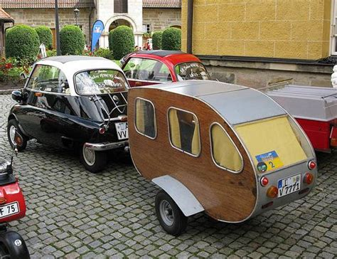 retro teardrop cer isetta plus teardrop caravan mini cer pinterest