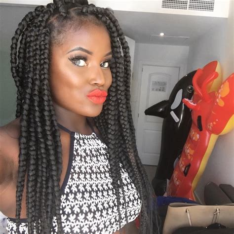 jumbo box braids short hairstyle 2013 jumbo braid hairstyles image short hairstyle 2013