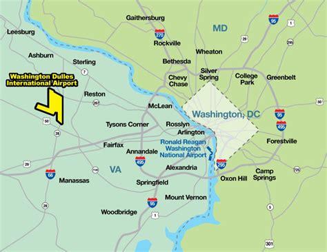 washington dc map showing airports visiting the real united states virgina calguns net