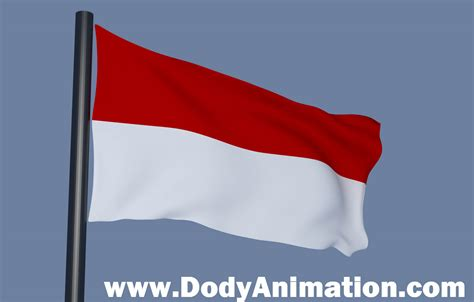 membuat gambar bendera bergerak membuat bendera dengan blender 2 62 dody and animation