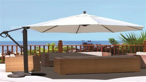 Patio Umbrella Large Large Patio Umbrella Cantilever