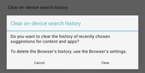 how to delete search history on android how to delete your mobile browsing history android