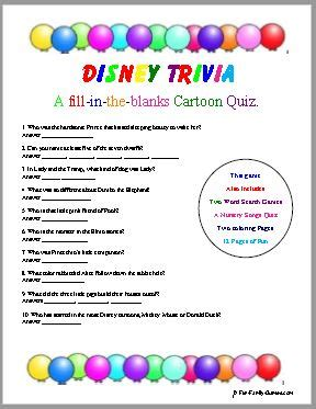 kids movie trivia questions ii trivia ch disney trivia will test your childhood cartoon knowledge