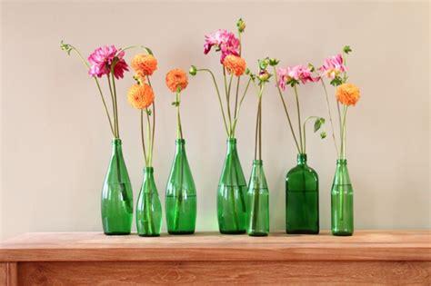 aus flaschen vasen machen 50 wohnideen selber machen die dem zuhause individualit 228 t