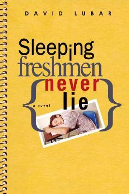 the animals never lie books sleeping freshmen never lie by david lubar discussion post