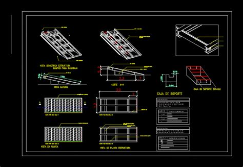 ramp detail dwg plan  autocad designs cad