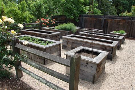 Raised Garden Planter Boxes by How To Create Raised Garden Beds Designs