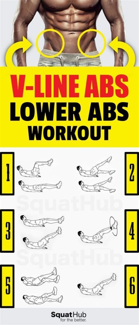 v line abs workout to define your lower abs squathub