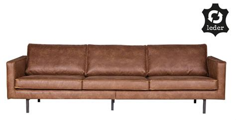 sofa recycling bepurehome sofa 3 seater rodeo recycle leather cognac