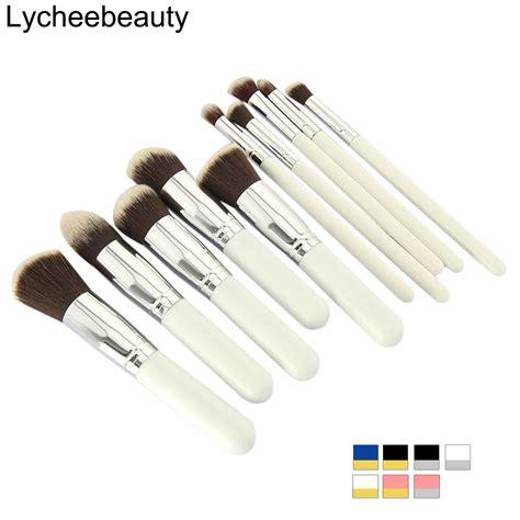 10 pcs professional makeup brush set maquiagem