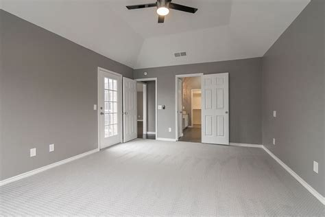 gray walls white trim light gray walls white trim dark floors love the frames to
