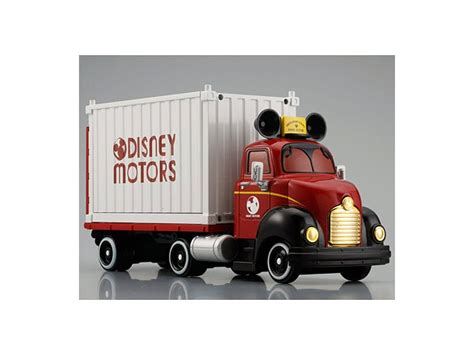 disney truck disney motors carry truck trailer by takara tomy