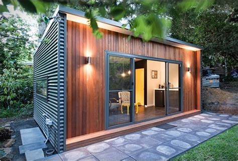 prefab backyard office prefab backyard offices by australian company inoutside