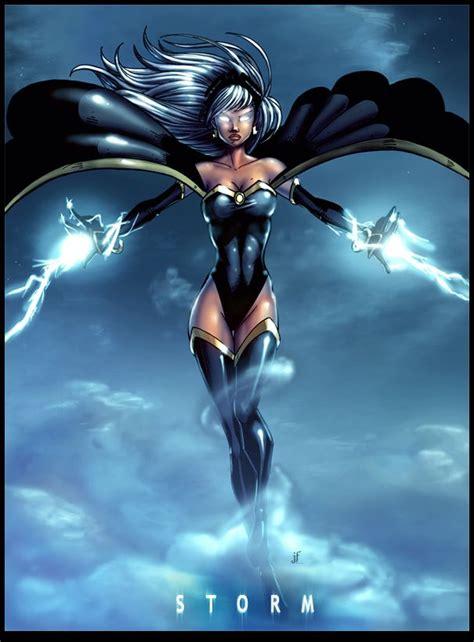 black xmen a showcase of electrifying storm artworks black panther