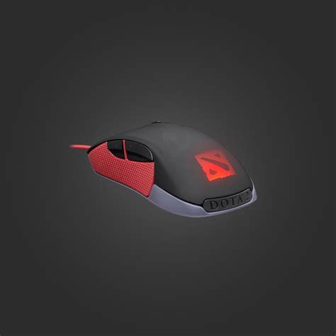 Mouse Gaming Dota Valve Store Steel Series Rival Dota 2 Edition Gaming Mouse