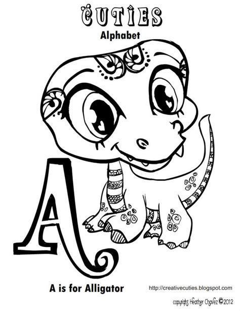 cute alligator coloring page printable alligator coloring pages az coloring pages