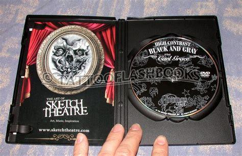 black and grey tattoo dvd tattooflashbooks com carl grace high contrast black