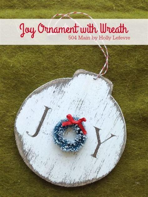 ideas  christmas ornaments handmade