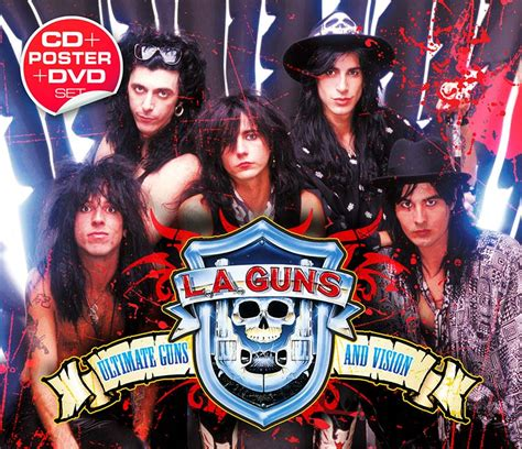 L A Guns l a guns ultimate guns and vision cd dvd cleopatra