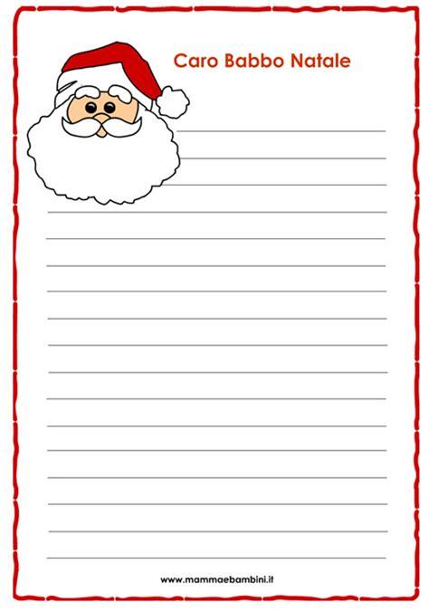 lettere natalizie letterina di natale per bambini da stare mamma e bambini