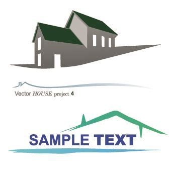 home design vector free download house creative logos vector illustration 01 vector logo