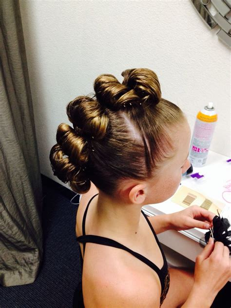 edgy bun hairstyles rolled bun edgy mohawk great for a dance hairstyle hair