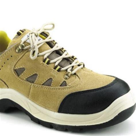 udyogi safety shoe steel toe with pu sole edge honey