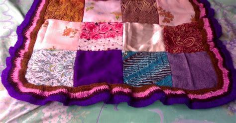 lavender art tutorial tas kain cantik cara membuat taplak meja dari kain perca art energic